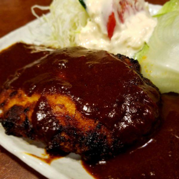 ハンバーグステーキ(デミ・和風)