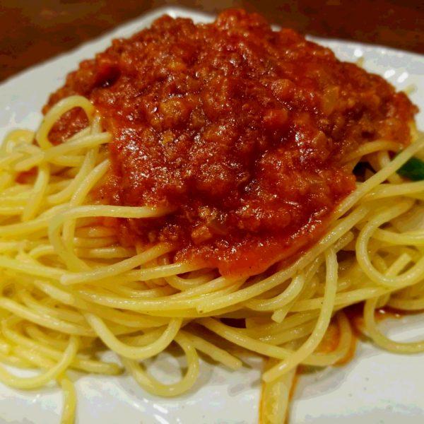 スパゲッティミートソース・ナポリタン